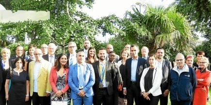 Passation de présidence pour le club Rotary Vannes Atlantique (crédit photo :  Le Télégramme)